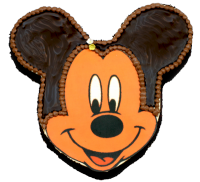 Micky Maus-Cremtorte